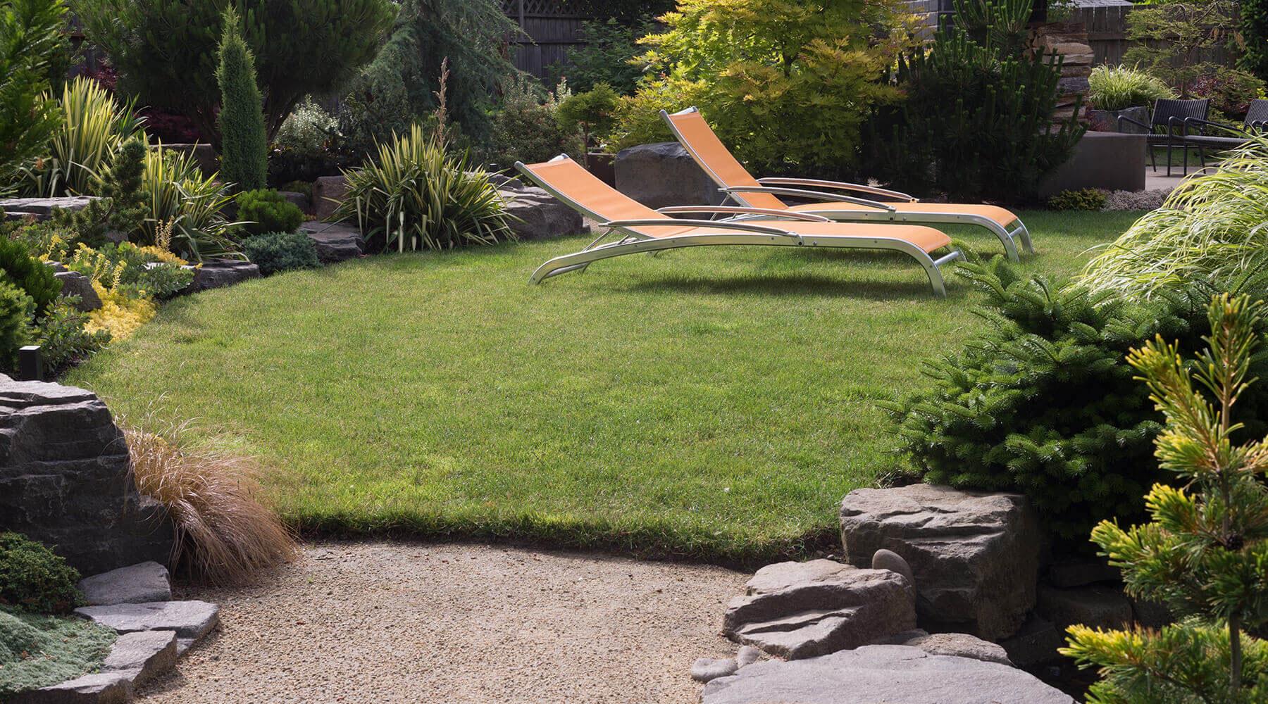 Piękne ogrody jako strefa relaksu